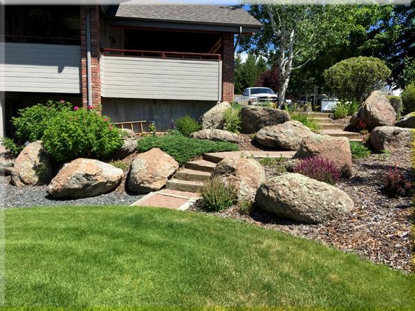 Boulder Garden U0026 Steps
